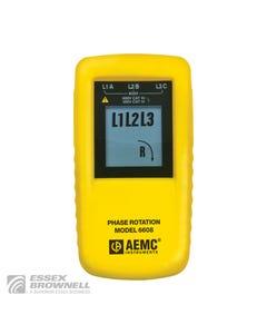 AEMC (Catalog: 2121.10) Phase Rotation Meter