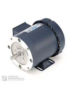 Leeson Sump Pump Motors, Totally Enclosed, Fan-Cooled, 3 Phase