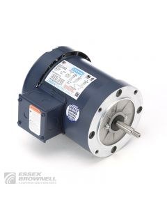 Leeson General Purpose Pump Motors, Totally Enclosed, Fan-Cooled, 3 Phase
