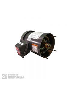 Nidec Jet Pump Pump Motors, Totally Enclosed, Fan-Cooled, 3 Phase