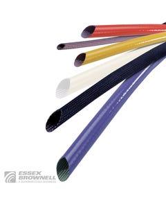 Suflex Silverflex Unsaturated Heat Treated Fiberglass 240°C 1/32W Sleeving