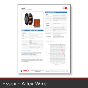 Essex - Allen Wire Data Sheet