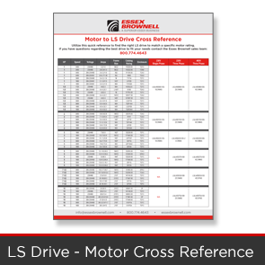 Essex Brownell - LS Drive Motor Cross Reference
