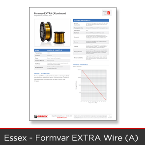 Essex - Formvar Extra A Wire Data Sheet
