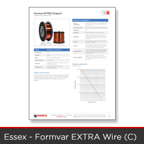 Essex - Formvar Extra C Wire Data Sheet