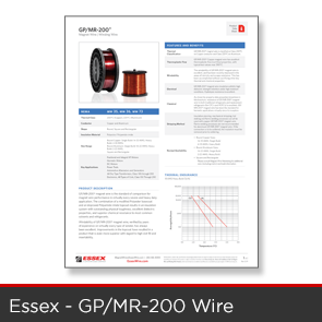 Essex - GPMR 200 Wire Data Sheet