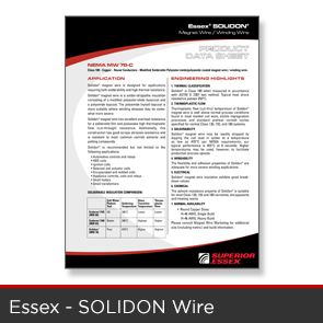 Essex - Solidon Wire Data Sheet
