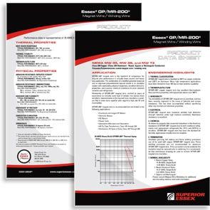 Essex Wire GPMR 200 EN Datasheet