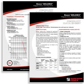 Essex Wire Solidex EN Datasheet