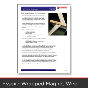 Essex Wire Technical Guideline Wrapped Products